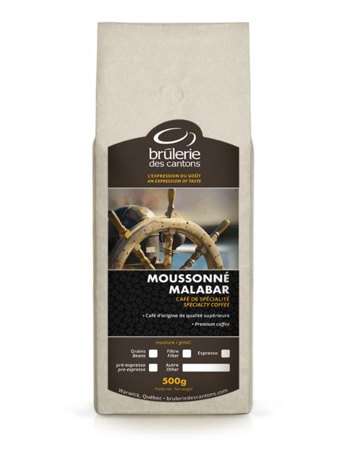 Café Moussonne Malabar Brûlerie Des Cantons / café espresso ou café filtre