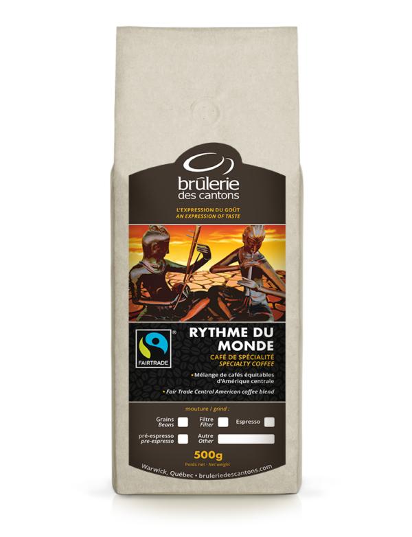 Café Rythme Du monde Brûlerie Des Cantons / café espresso ou café filtre
