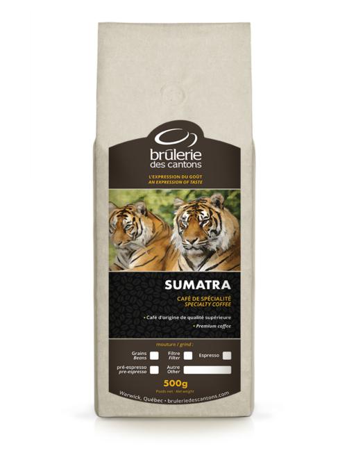 Café Sumatra mandheling Brûlerie Des Cantons / café espresso ou café filtre