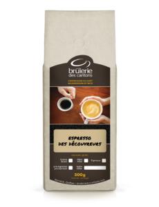 Café Espresso des Découvreurs Brûlerie Des Cantons / café espresso ou café filtre