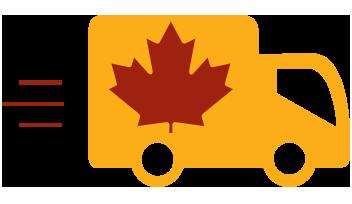 Livraison Gratuite partout au Canada